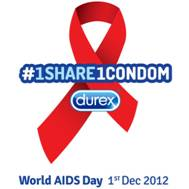 #1share1condom - Durex World AIDS Day 1 Dec 2012