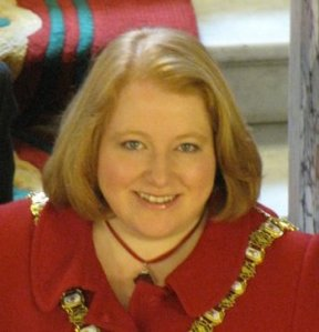Naomi Long, MP for East Belfast, standing up to the bully boys.
