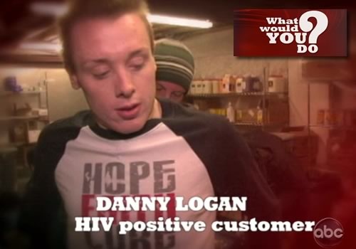 HIV in the restaurant—what would you do?