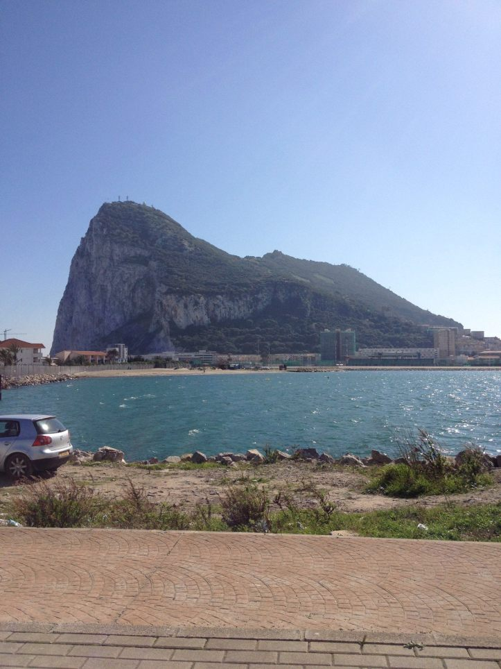 The Rock of Gibraltar from La Línea de la Concepción. Picture: © 2014 Andrew McFarland Campbell