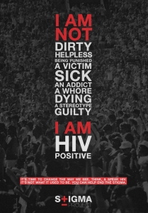 I am Not Dirty. I am HIV Positive.