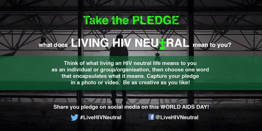 #LiveHIVNeutral — mypledge