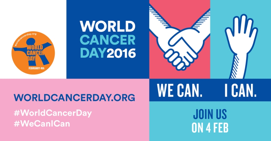 We Can. I can. Supporting #WorldCancerDay